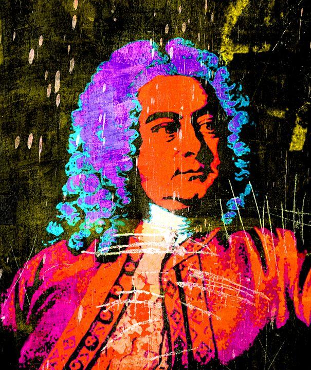 George Frideric Handel - IMPACTEES STREETWEAR ARTWORKS
