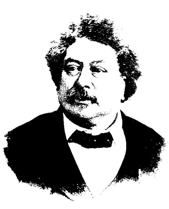 Alexandre Dumas (Père) - IMPACTEES STREETWEAR ARTWORKS
