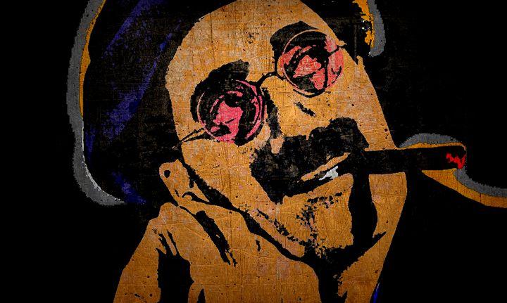 Groucho Marx-Composition 2 - IMPACTEES STREETWEAR ARTWORKS