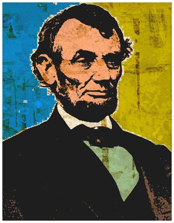 ABRAHAM LINCOLN - IMPACTEES STREETWEAR: ARTWORKS