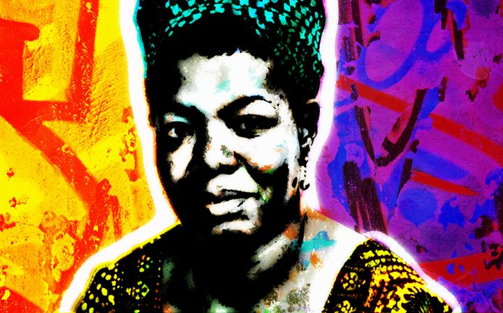 Maya Angelou - THE GRIFFIN PASSANT STREETWORK