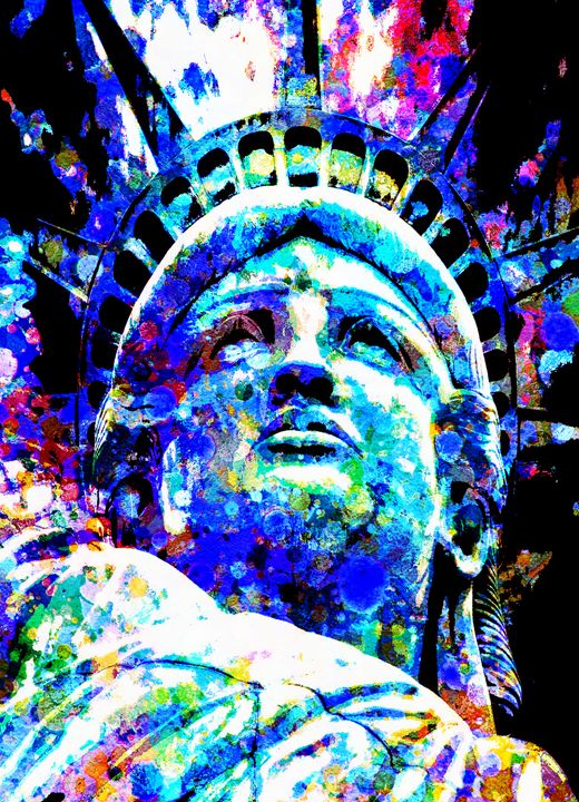 STATUE OF LIBERTY - THE GRIFFIN PASSANT STREETWORK