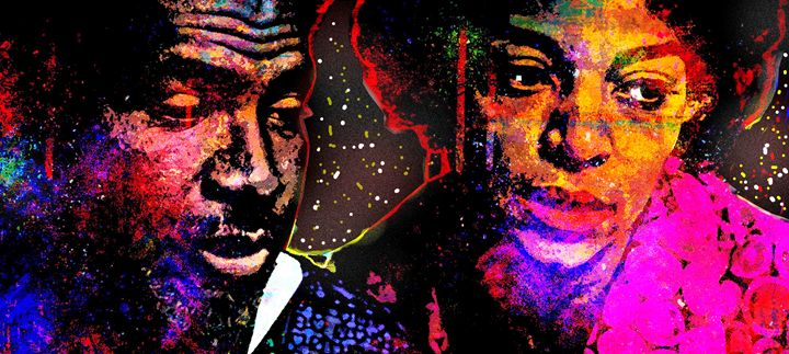 OSSIE DAVIS and RUBY DEE - IMPACTEES STREETWEAR ARTWORKS