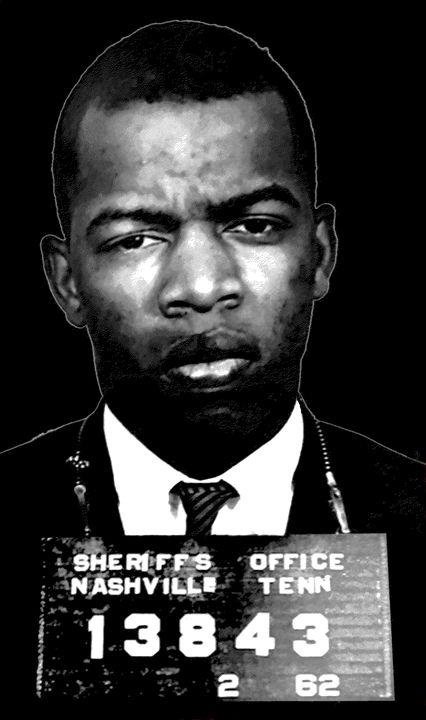 JOHN LEWIS-FREEDOM RIDER MUGSHOT 196 - THE GRIFFIN PASSANT STREETWORK
