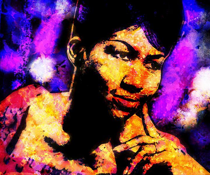 ARETHA FRANKLIN 2 - IMPACTEES STREETWEAR ARTWORKS