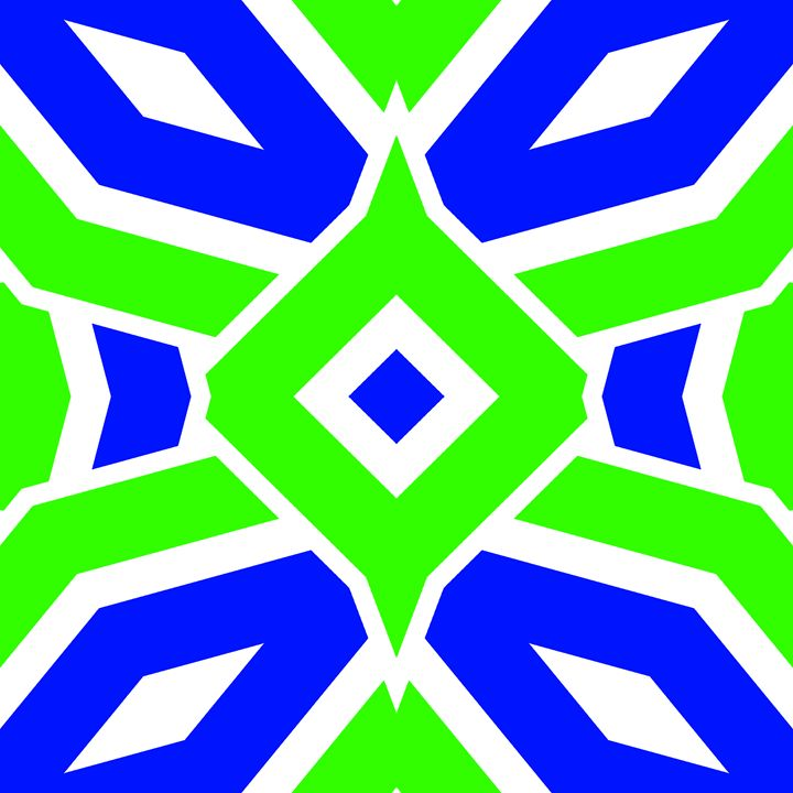 GREEN AND BLUE - THE GRIFFIN PASSANT STREETWORK