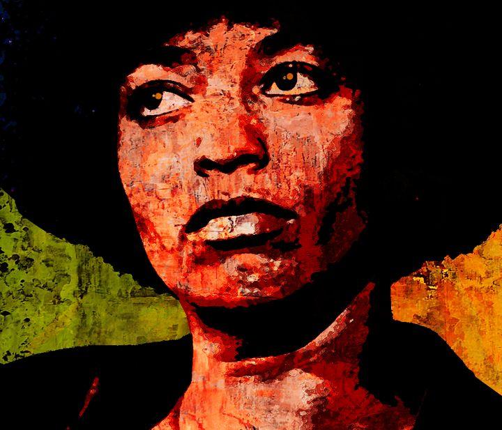 ANGELA DAVIS 2 - IMPACTEES STREETWEAR: ARTWORKS