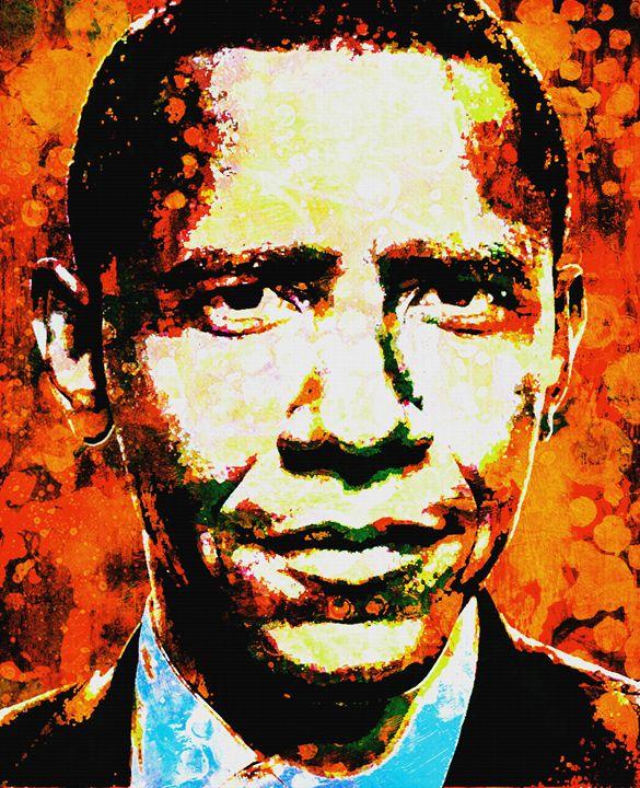 President Barack H. Obama - IMPACTEES STREETWEAR: ARTWORKS