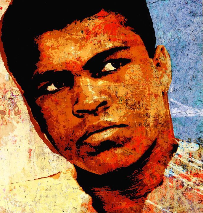 ALI THE GREATEST - IMPACTEES STREETWEAR ARTWORKS