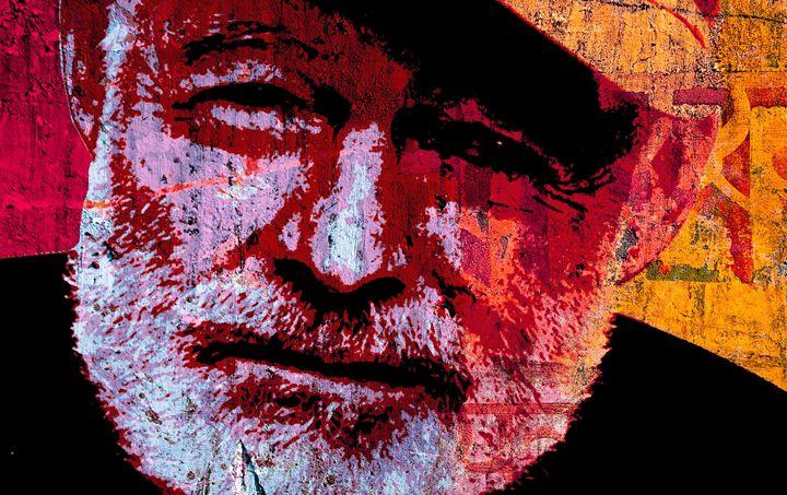 Ernest Hemingway - IMPACTEES STREETWEAR ARTWORKS