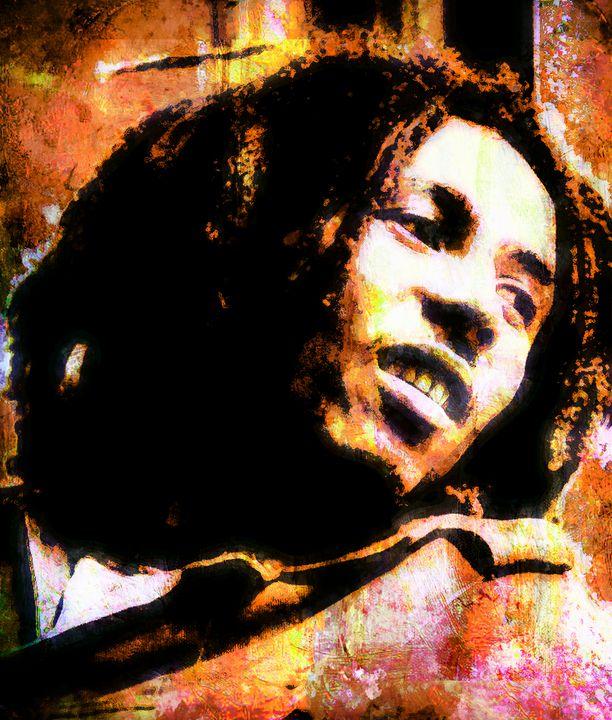 BOB MARLEY 2 - IMPACTEES STREETWEAR ARTWORKS