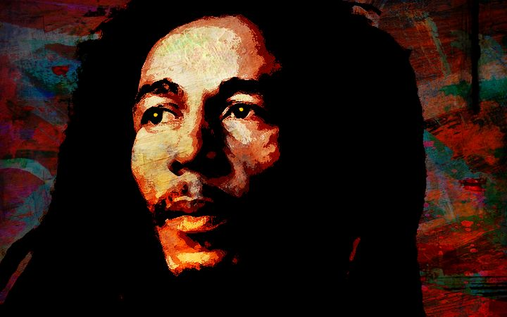 BOB MARLEY - THE GRIFFIN PASSANT STREETWORK