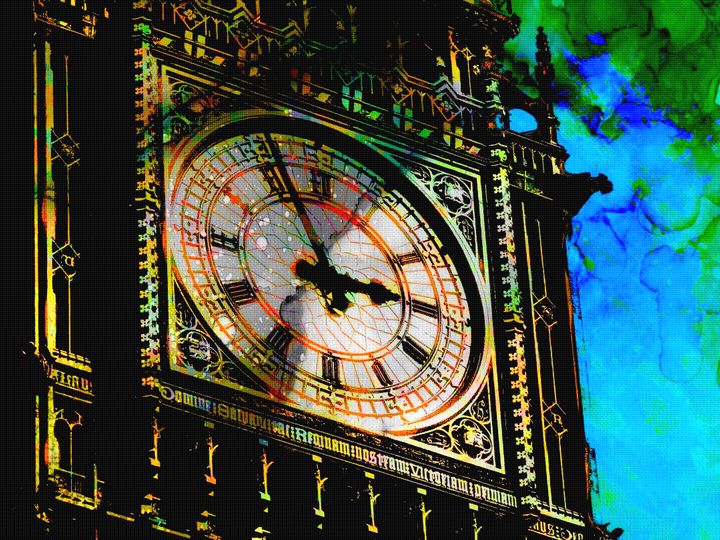BIG BEN CLOCK - IMPACTEES STREETWEAR ARTWORKS