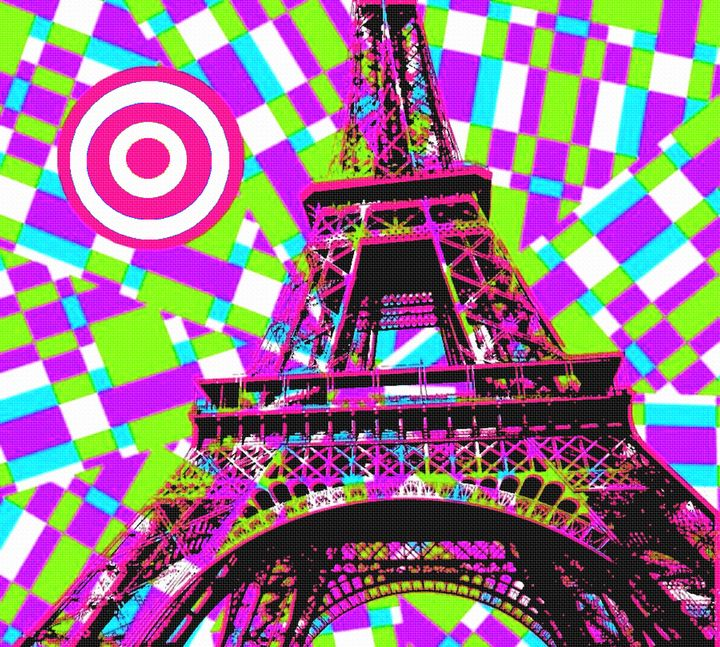 EIFFEL TOWER POPART 4 - IMPACTEES STREETWEAR ARTWORKS