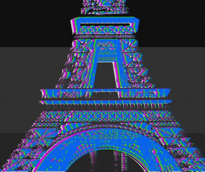 EIFFEL TOWER - IMPACTEES STREETWEAR ARTWORKS