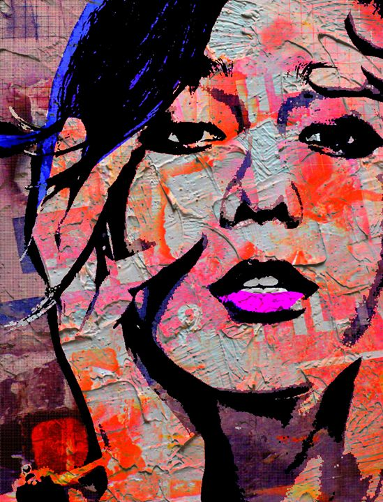 MODERN WOMAN-BRAVE NEW WORLD 11 - IMPACTEES STREETWEAR ARTWORKS