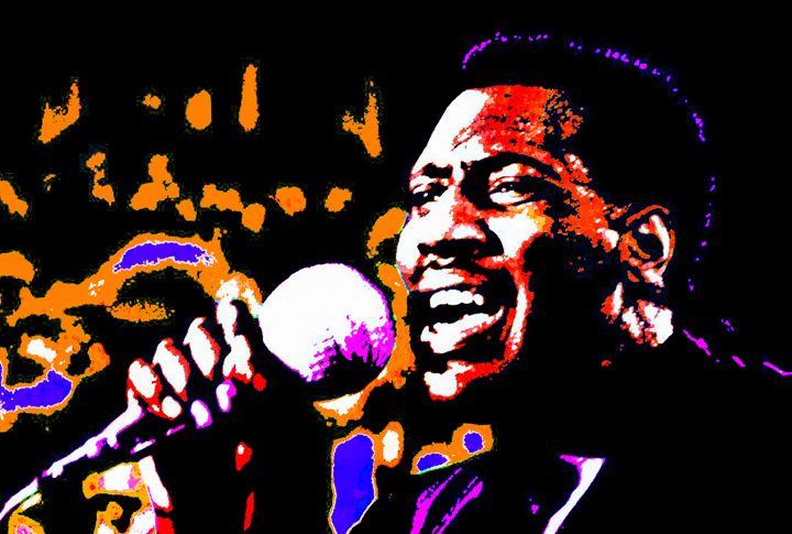 Otis Redding - IMPACTEES STREETWEAR ARTWORKS