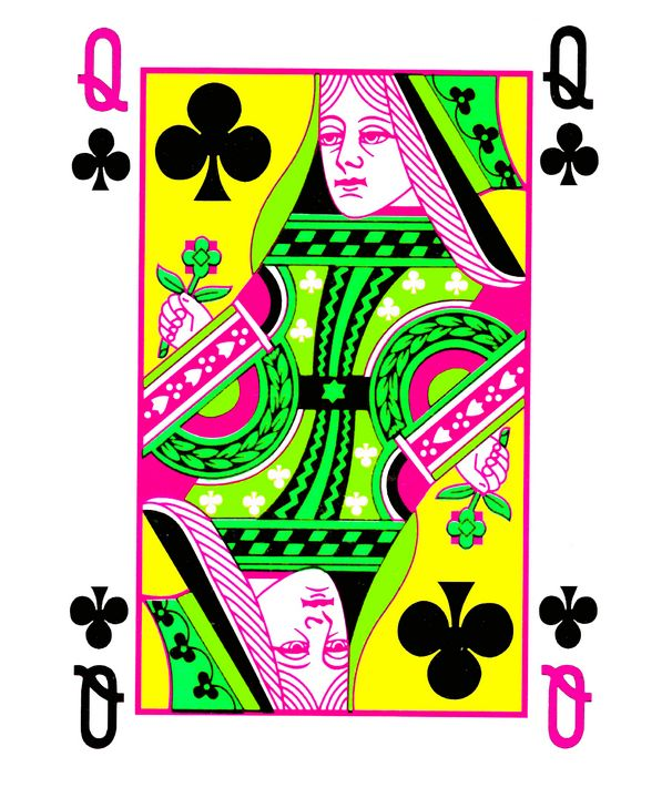 QUEEN OF CLUBS 3 - IMPACTEES STREETWEAR ARTWORKS