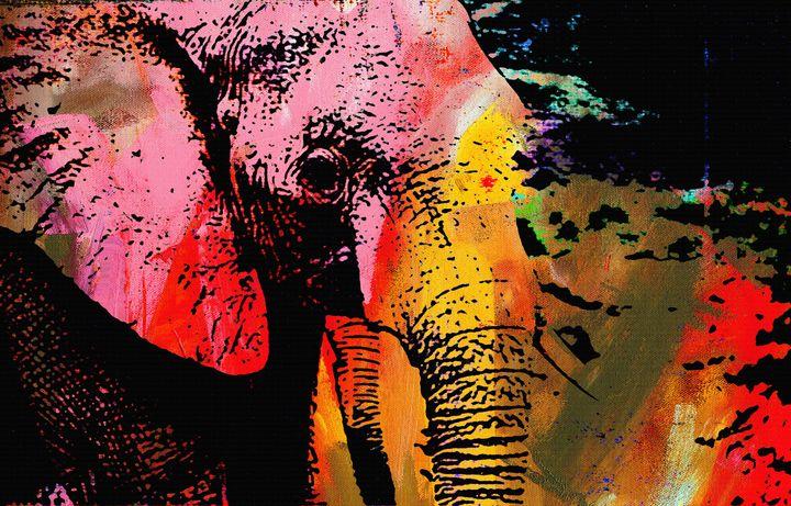 THE LAST ELEPHANT - IMPACTEES STREETWEAR ARTWORKS