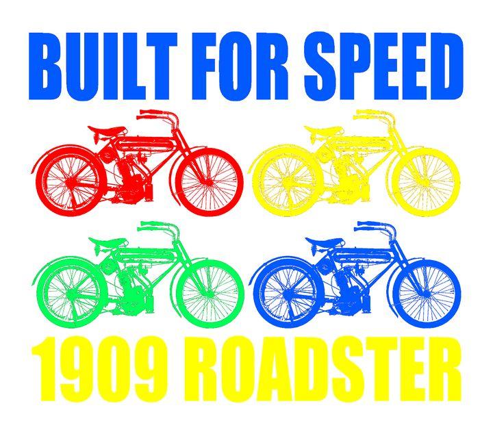 1909 ROADSTER - IMPACTEES STREETWEAR ARTWORKS