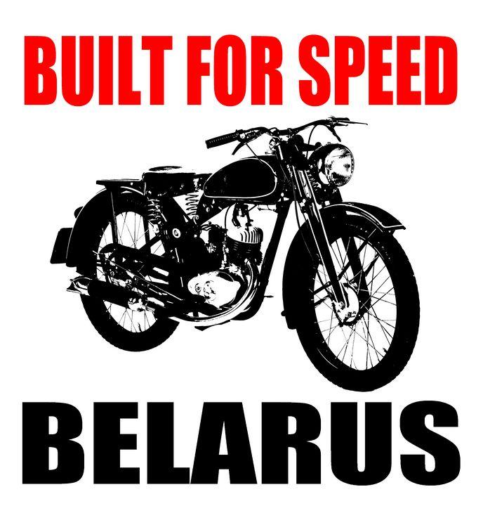 1950 MOTORCYCLE - IMPACTEES STREETWEAR ARTWORKS
