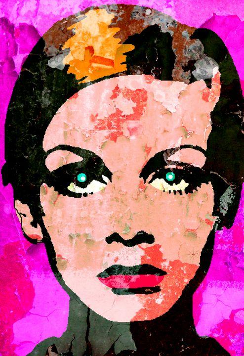 Twiggy-67 Colour - IMPACTEES STREETWEAR ARTWORKS