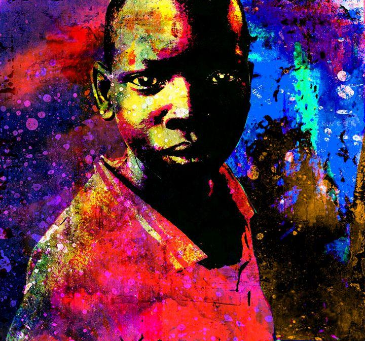 CHILDREN OF WAR  CENTRAL AFRICAN.... - IMPACTEES STREETWEAR: ARTWORKS