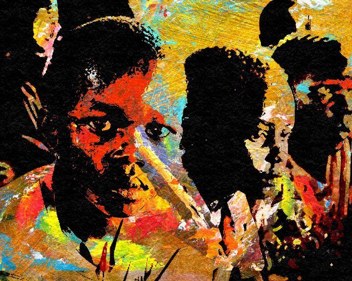 CHILDREN OF WAR 9 - IMPACTEES STREETWEAR: ARTWORKS