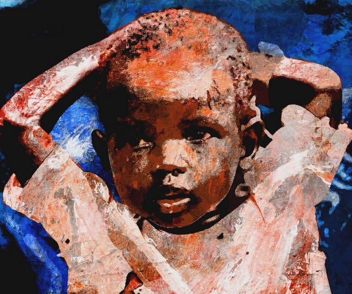 CHILDREN OF WAR SUDAN 3 - IMPACTEES STREETWEAR: ARTWORKS