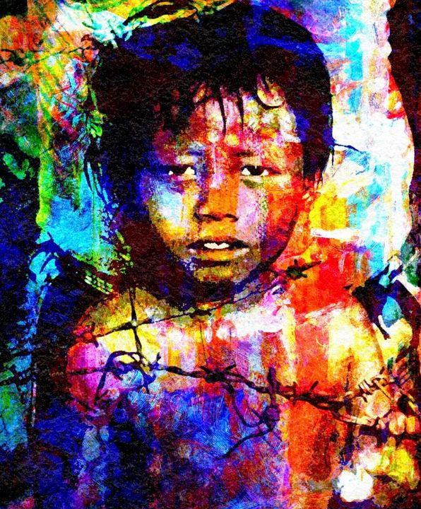 CHILDREN OF WAR CAMBODIA - IMPACTEES STREETWEAR: ARTWORKS