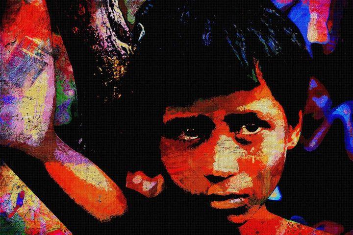CHILDREN OF WAR ROHINGA 4 - IMPACTEES STREETWEAR: ARTWORKS