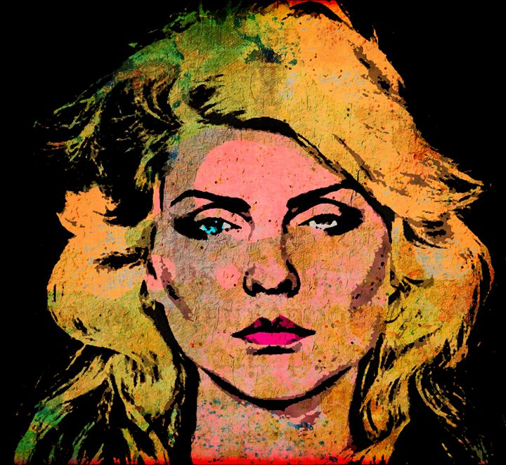 DEBBIE HARRY - IMPACTEES STREETWEAR ARTWORKS