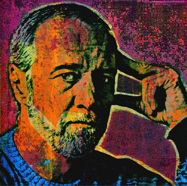 George Carlin - IMPACTEES STREETWEAR ARTWORKS