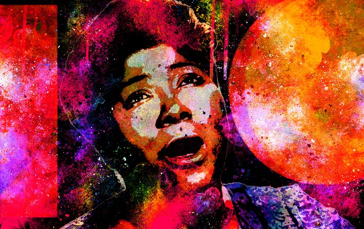 MAHALIA JACKSON - IMPACTEES STREETWEAR: ARTWORKS
