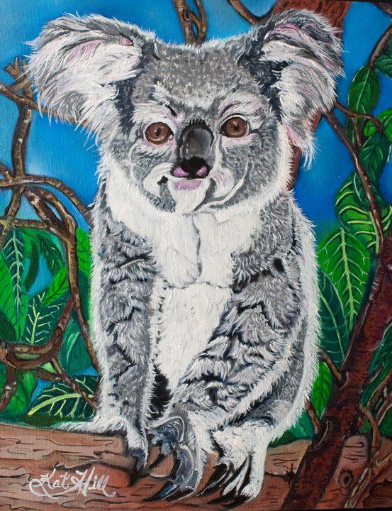 A Koala's Lifestyle - T.K.P.  Art