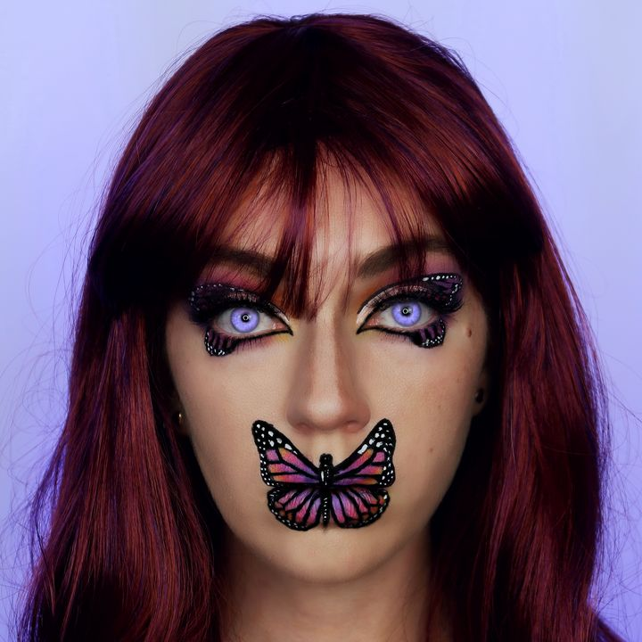Butterfly 2 - Katie Cole Body Painting