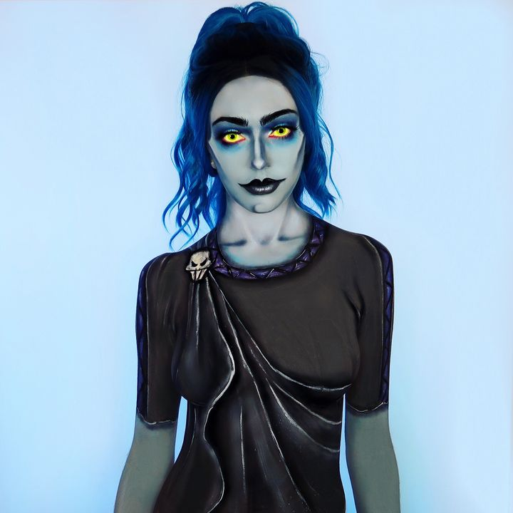 Hades - Katie Cole Body Painting