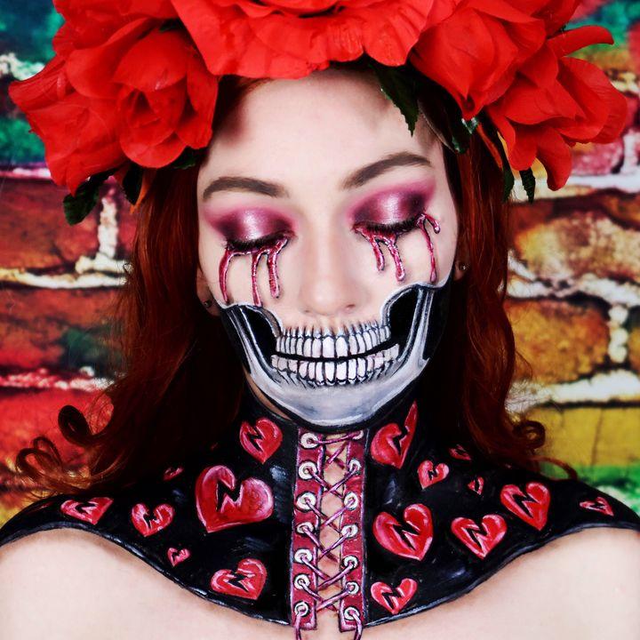 Heartbroken - Katie Cole Body Painting