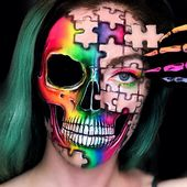 Katie Cole Body Painting