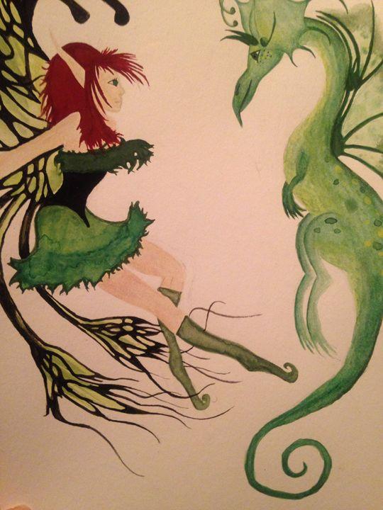 Fairily Verde - Art by Nichole