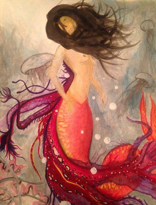 Ocean phoenix - Art by Nichole