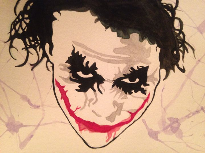 Why so serious? - Art by Nichole