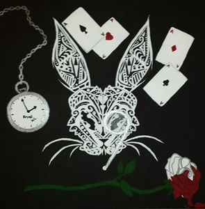 """Abstract Alice"" (The White Rabbit)"