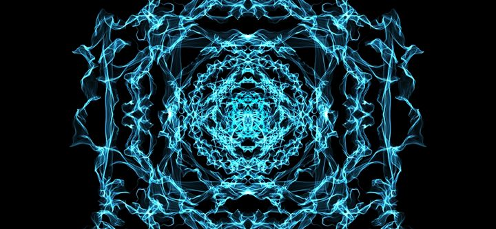 Abstract 4 Blue - Kathy's Place