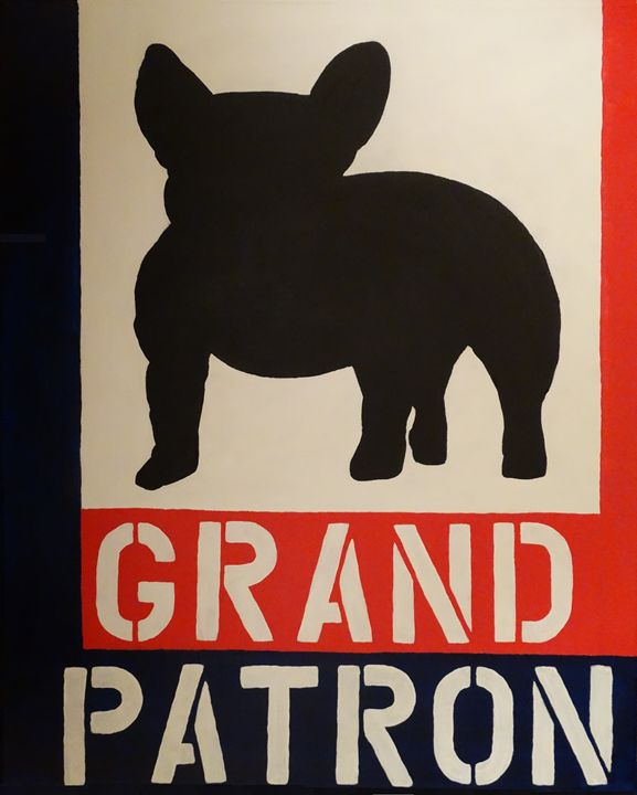 """Grand Patron"" French Bulldog - Gallery Cousteau"