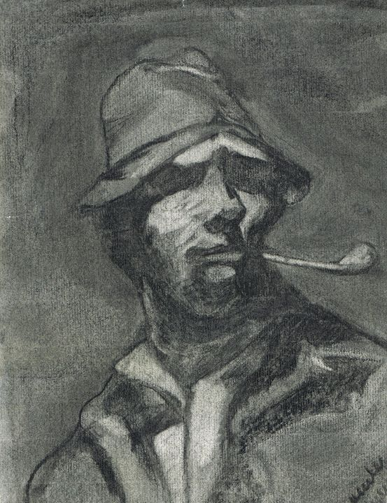 Man with Pipe -  Crtbll4