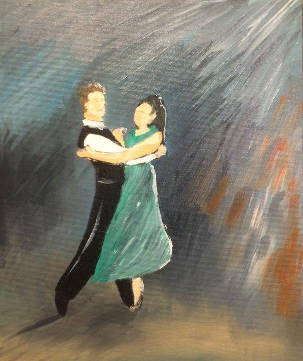 We came to dance - Gary Stocker Art
