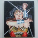 Wonder Woman Oil on Canvas