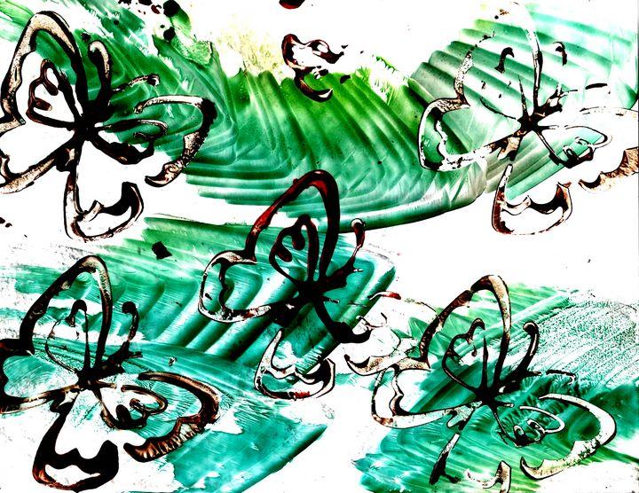 Butterfly Dance - Paulyworks Fine Art Photography