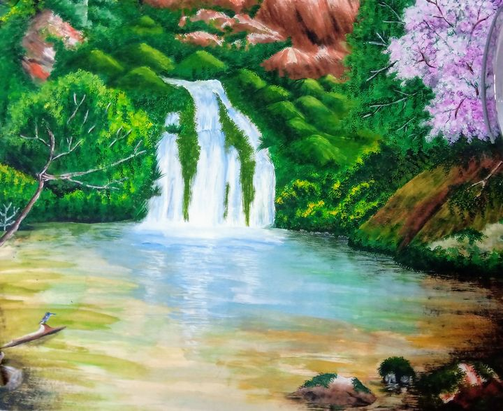 Waterfall scenery - Mariyam